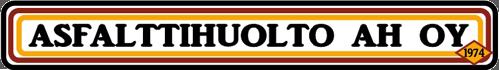 Asfalttihuolto AH Logo